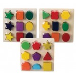 Wooden Puzzle Edu Blocks